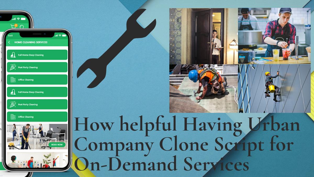 Urban Company Clone App