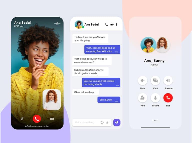 build chat app