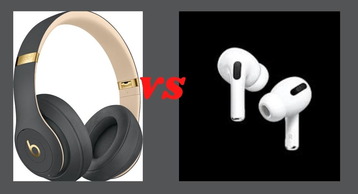 Apple Airpods pro vs Studio 3