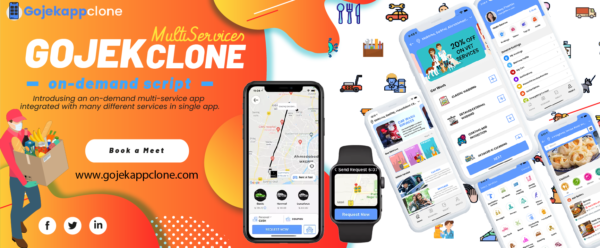 Launch Gojek Clone App In The USA By Developing From The Best App Development Company