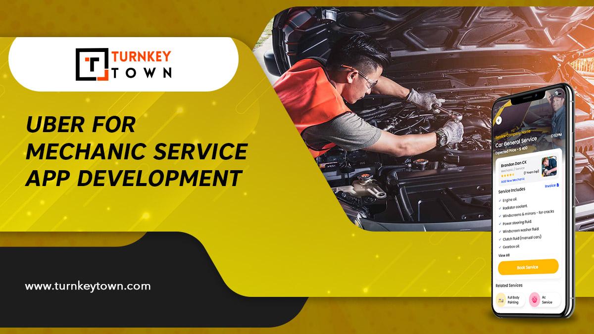 Uber for car repair service app